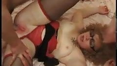 Slutty wife fucks about with two strangers
