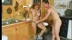 Sexy hispanic whore fucked in the house