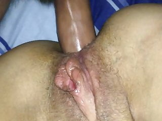 Fat Guy And Teenager Try Anal Without Lubricant