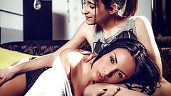 European babes Anissa Kate and Ena Sweet