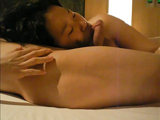 Beautiful Korean GF's dirty sex