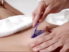 POV Pussy and Ass Hair Waxing