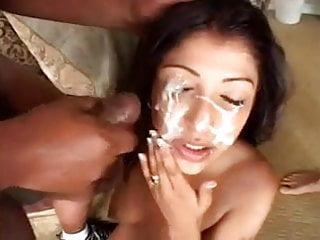 Destiny Deville British Asian Slut Blowbang