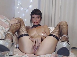 Baby Suicide - Long dildo, Little fist, Creamy pussy
