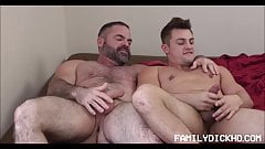 Jock Stepson First Gay Sex With Bear Stepdad