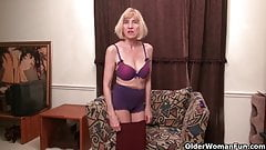American moms in pantyhose part 6
