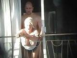 hotel balcony fuck