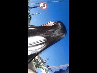 Chilena Culona Tierna 19 anos por la calle