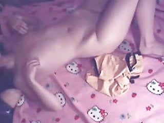 Download video bokep Hello Kitty teen masturbating Mp4 terbaru