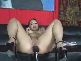Slut Fucked in High Heels by Fuck Machine