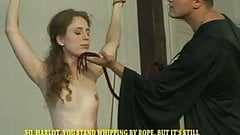 Exorcism for russian girl - Part II - tit and back whipping