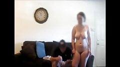 redhead milf and stranger on hidden cam