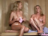 Twistys - Ainsley AddisonBrett Rossi starring at Hello