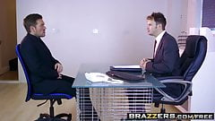 Brazzers - Big Tits at Work - Stacey Saran and Ryan Ryder - 's Thumb