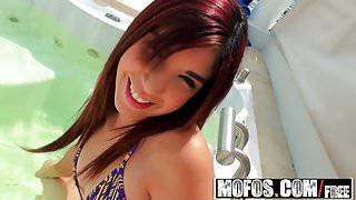 Mofos - Latina Sex Tapes - Leah Cortez - Last Day Better Mak