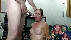 SLUT SUB WIFE ANAL, PISS SWALLOWING