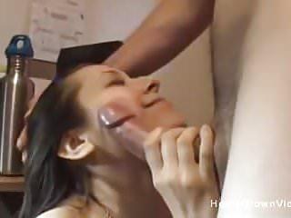 Sasha Sucks Her Mans Dick Like A Champ