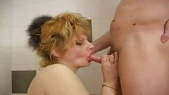 in the bathroom with russian milf