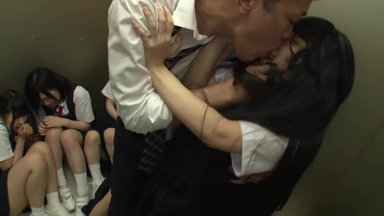 Orgy japanese elevator