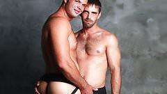 Gay men in jock straps - Brady Hanson, Joe Parker