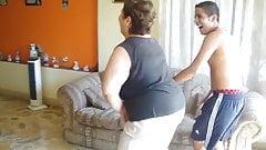 Bbw mature big ass massage