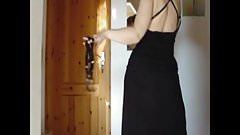 Stripped my dress off cam