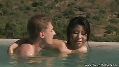 Erotic Oil Massage With Asian Girl