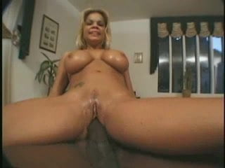 Cute babe riding a dildo