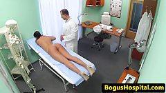 Real euro nurse pussy eaten ou
