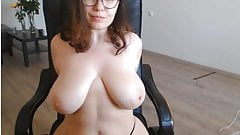 busty glasses