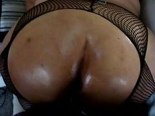 Thick Black Oily Cock fucking that oily bbw
