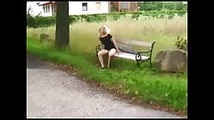 Blonde bench piss.mp4