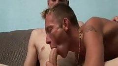 Horny Gay Gets Huge Cream