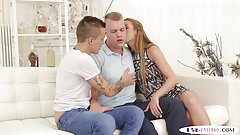 Bisexual jock anally pounded while getting bj