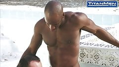 Interracial Outdoor Fuck Session