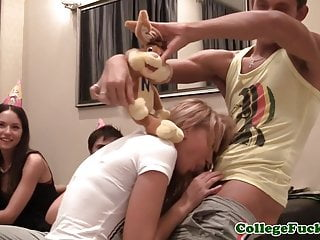 College euro teen analfucked and sucking dick