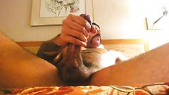 Str8 Sebastian Rio Edging his big dick