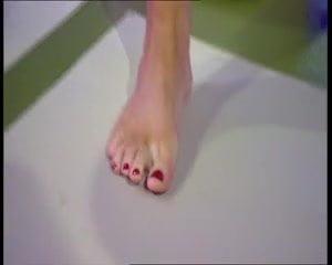 denise van outen & christine bleakley sexy feet