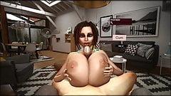Trishka Novak - Animated Huge Titty Titfuck 3D