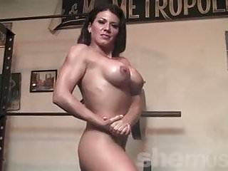 Leena Strips Naked and WorksOut