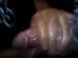 Crazy cum facials - Super hj to a bbc with a crazy cum shot ending