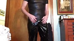 Shiny outfit
