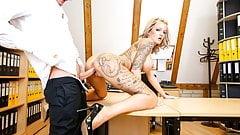 LETSDOEIT - Naughty OFFICE Sex with Busty German Secretary