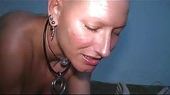 masturbates with a bald head