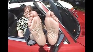Mature Soles Feet of Val