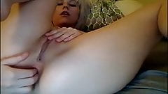 Russian dominica fox eats and fingers granny sally