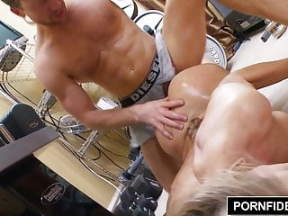 Preview 5 of PORNFIDELITY - Cougar Queen Brandi Love Fucks Young Stud