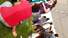 Huge Buttcrack in Student's Day