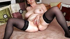 Chubby mom Anastasiya