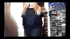Bbw dancing playing for us!Pre